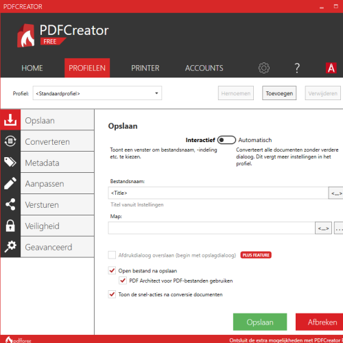 gratis pdfcreator download