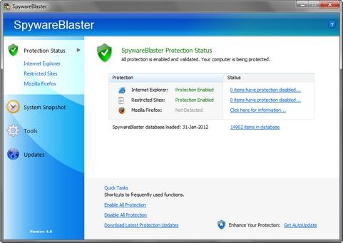 spyware blaster screen 1