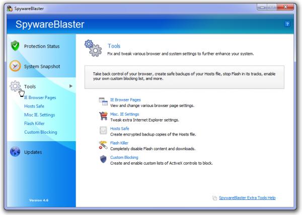spyware blaster screen 2