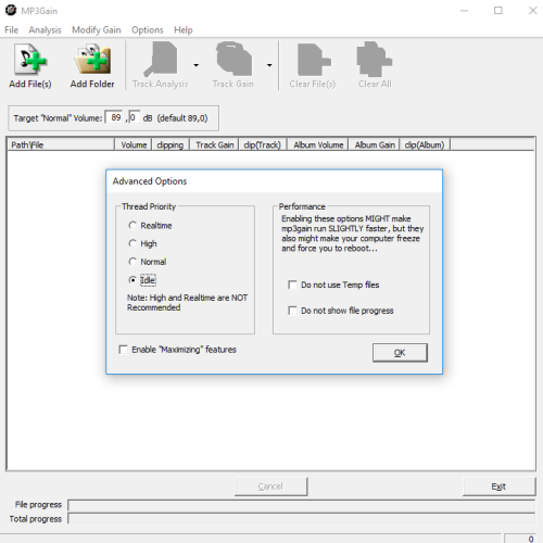 download mp3gain full installer