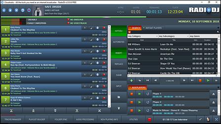 radio dj software