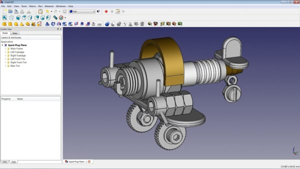 freecad software