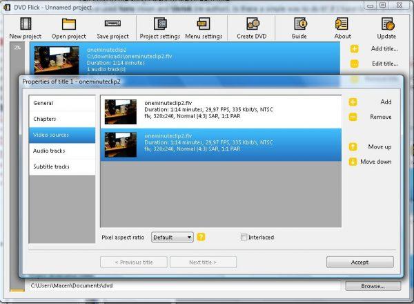 dvd flick gratis software