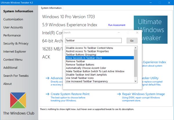 Ultimate-Windows-Tweaker windows 10