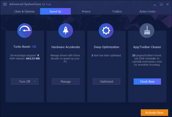 advanced systemcare 10 free